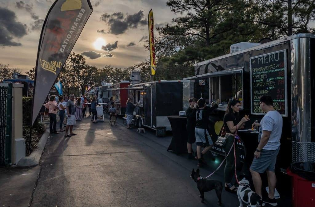 Pick a Food Truck to Cater Your Event